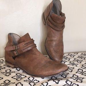 Free people leather boots
